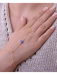 economico -Per donna Bracciali a catena e maglie Braccialetti anello Gioielli stile della Boemia Fatto a mano Lega Circolare Oro Argento Gioielli Per