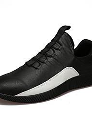 Недорогие -Мужская спортивная обувь весна лето комфорт пу открытый спортивный случайный шнурок ходить