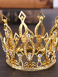 abordables -cristal tiaras headpiece wedding party elegante estilo femenino clásico