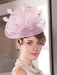 cheap -Tulle Feather Fascinators Hats Headpiece Classical Feminine Style