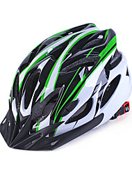 Недорогие -Велоспорт шлем Сертификация Велоспорт Неприменимо Вентиляционные клапаны С возможностью регулировки Спорт Универсальные Горные велосипеды