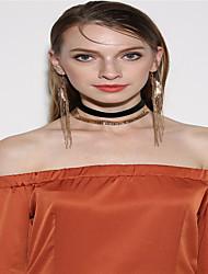 Women's Choker Necklaces Earrings/Bracelet Dangle Earrings Jewelry Personalized Dangling Style Pendant Euramerican Fashion Special