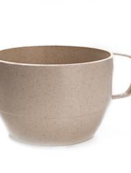 la paille de blé tasse de thé non d'art jetable