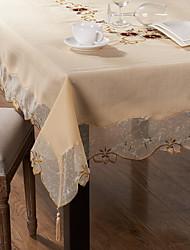 Rettangolare Cucito Tovaglie , Miscela polyester / cotone MaterialeCena Decor Favor Decorazione casa Hotel Dining Table Wedding Party