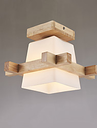 Flush Mount   Modern/Contemporary Feature for LED Wood/Bamboo Living Room Dining Room Kitchen Study Room/Office Hallway