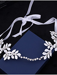 cheap -Imitation Pearl Acrylic Tiaras Headbands Hair Tool Head Chain 1 Wedding Special Occasion Outdoor Headpiece