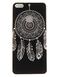 cheap -For Huawei P8 Lite (2017) P10 Case Cover Wind Chimes Pattern HD Painted TPU Material IMD Process Phone Case P10 Lite Honor 6X Y5 II Y6 II