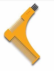 1Pcs Beard Bro Hair Trimmers Hair Care Styling Man Gentleman Beard Trim Template Hair Cut Molding Hair Clipper Beard Modelling Tools Color Random