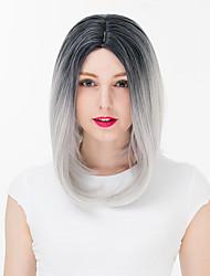 abordables -Pelucas Lolita Amaloli Gradiente de Color Peluca de Lolita  35 CM Pelucas de Cosplay Pelucas Para