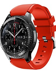 preiswerte -Uhrenarmband für Gear S3 Frontier Samsung Galaxy Sport Band Silikon Handschlaufe