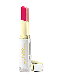 cheap -Lipstick Wet Balm Coloured gloss Coverage Long Lasting Natural Waterproof