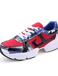Chaussures athlétiques féminines printemps automne confort léger semelles suède tulle extérieur athlétique occasionnel