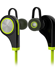 abordables -Q9 Dans l'oreille Bande de cou Sans Fil Ecouteurs Electrostatique Plastique Sport & Fitness Écouteur Avec Microphone Isolation du bruit