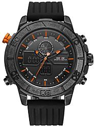 preiswerte -WEIDE Herrn Quartz digital Armbanduhr Militäruhr Sportuhr Japanisch Alarm Kalender Wasserdicht LED Großes Ziffernblatt Nachts leuchtend