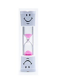 cheap -Hourglass Timer 1/3/5/20 Three Minutes Time Drop Safe Plastic Mini Ornaments Gift