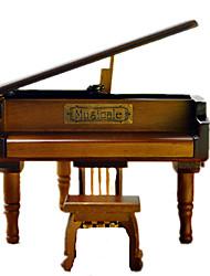 abordables -Caja de música Piano Clásico Niños Adultos Adulto Regalo Unisex