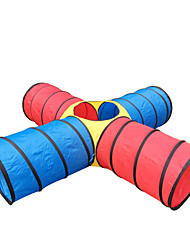 Play Tents & Tunnels Toys Cylindrical Kid's Children's Pieces