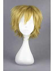 Kagerou Project-Kano Syuya Light Yellow Short Anime 14inch Cosplay Wigs CS-167B