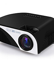 LCD FWVGA (854x480) Projector,LED 1200 Mini Portable HD Projector