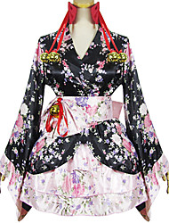 Outfits Wa Lolita Lolita Cosplay Lolita Dress Solid Long Sleeve Short / Mini For