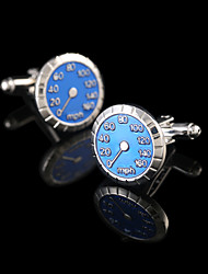 cheap -Geometric Silver Cufflinks Copper Fashion Gift Boxes & Bags Men's Costume Jewelry