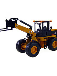 cheap -Construction Vehicle Forklift Toy Truck Construction Vehicle Toy Car 1:60 ABS Metal Rubber Unisex Kid's Toy Gift