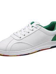 Scarpe da ginnastica degli uomini caduta estate caduta tela di canapa casual bianco / verde rosso / bianco nero / bianco nero