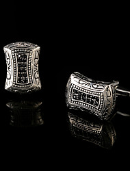Palace Retro Style Decorative Pattern Cufflinks Male French Shirt Cuff links Men's Jewelry Gift Old Anti-Silver Wedding Gifts
