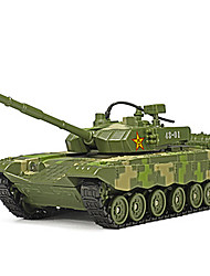 cheap -Toy Cars Tank Toys Music & Light Tank ABS Metal Alloy Plastic Pieces Unisex Gift