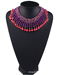 Women's Strands Necklaces Jewelry Jewelry Synthetic Gemstones Alloy Fashion Euramerican Jewelry For Party Gift