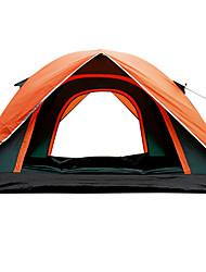 3-4 Pessoas Tenda Único Barraca de acampamento Um Quarto Barracas para Acampamento Família Prova-de-Água Anti-Insectos Respirabilidade