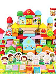 baratos -Blocos de Construir Brinquedo Educativo Playsets veículos Brinquedos Brinquedos Peças Não Especificado Unisexo Rapazes Dom