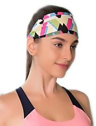 Недорогие -Двусторонняя шапка Приспущенные Жен. Впитывает пот и влагу Удобный для Йога Гонки Спорт в свободное время Мода Эластан Терилен
