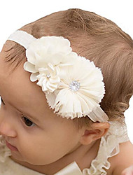 cheap -Girls New Chiffon Shabby Burrs Headdress Flower Children Hair Band Photo Props Party Children Hair Band