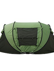 3-4 persons Tent Double Camping Tent One Room Pop up tent for Camping Traveling 2000-3000 mm 200*280*120 CM