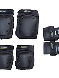 Kids' Adult Knee Pads + Elbow Pads + Wrist Pads for Inline Skates Roller Skates Hoverboard Skateboarding Longboards Protective Breathable