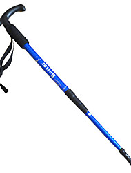 cheap -3 Nordic Walking Poles 110cm (43 Inches) Damping Foldable Light Weight Adjustable Fit Aluminum Alloy Camping & Hiking Snowshoeing