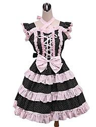 cheap -Sweet Lolita Dress Rococo Women's Girls' One Piece Dress Cosplay Sleeveless