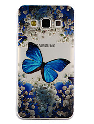 For Samsung Galaxy A3 A5 (2017) Case Cover Butterfly Pattern Drop Glue Varnish High Quality TPU Material Phone Case A3 A5