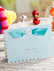Pliée Invitations de mariage ensembles de Faire-Part Cartes Rappel d'Invitation de Mariage Enveloppe Autocollant d'enveloppe Programme