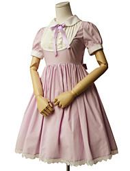 Недорогие -Сладкое детство Принцесса Жен. Девочки Платья Платья Косплей С короткими рукавами