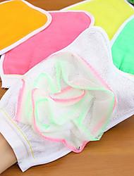 Luvas e Panos de Banho Ecológico Têxtil Ducha Caddies banho
