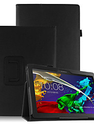 cheap -PU Case Cover for Lenovo Tab3 Tab 3 10 Business X70F TB3-X70F X103F with Screen Protector