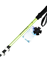 cheap -3 Nordic Walking Poles 135cm (53 Inches) Damping Foldable Adjustable Fit Light Weight Aluminum Alloy Camping / Hiking Snowsports Traveling
