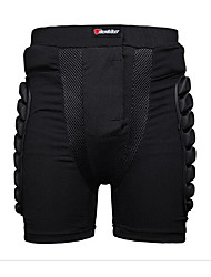 cheap -HEROBIKER Motorcycle Shorts Protective Gear Hip Padded Shorts Skiing Skating Snowboard Protection Size XS-3XL