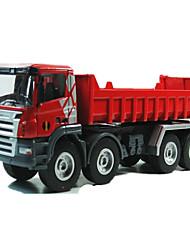 Недорогие -Фермерская техника Самосвал Игрушечные грузовики и строительная техника Игрушечные машинки Машинки с инерционным механизмом 1:50 Металл