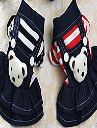 economico -Cane Vestiti Abbigliamento per cani Classico Romantico Compleanno Vacanze Cowboy Casual Reversibile Di tendenza Sportivo Matrimonio