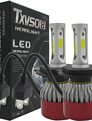cheap -TXVSO8 Auto Led 2x H4 Hi/Lo Car Headlights 252W 25200LM Car Led Light Bulbs H4 H/L Beam Automobiles Headlamp Fog Lamps 6500K Headlight Globes Kits