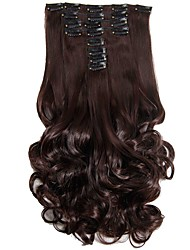 cheap -Synthetic Hair False Hair Extensions 20inch 150g Curly Hairpiece Heat Resistant Hair D1022  2/33#