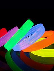 abordables -Bracelet à puce Etanche Sportif Capteur de doigt Plastique Bleu marine Feuille Rose dragée clair Vert clair Couleur Rubis